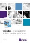 1-pack Ordlistor - grundpaket för lärarnas professionella språk Ny version! Reviderad 2017