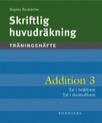 Skriftlig huvudräkning Addition 3 5-pack