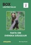 Box / Fakta om svenska däggdjur