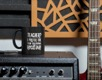 Kaffemugg - Teacher? I prefer the term Educational Rockstar! (vit insida)