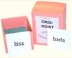 Teckenläseboken ordkort