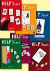 HELP Start Textböcker A-F 6 olika