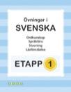 Etapp 1 - Blandade övningar i svenska