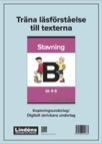 Träna läsförståelse Stavning B pdf