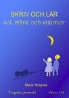 Skriv och lär - sol, måne och stjärnor kopieringsunderlag