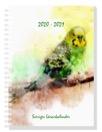 Sveriges Lärarkalender 2020-2021 -  Fåglar - Undulat
