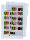 Plastficka A5 hålad för systempärm 2-pack