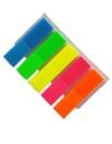 Självhäftande flikar fem färger