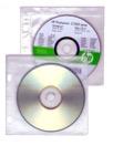 CD-hållare hålad för systempärm 2-pack