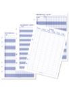 Blankettsats - Klassdata till systempärm 4 olika x 10st